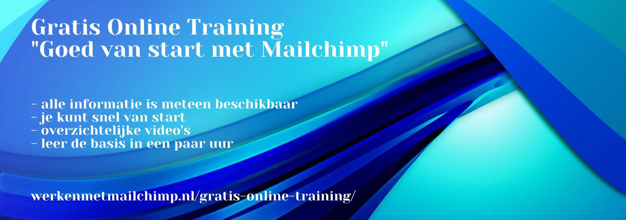 Gratis online training